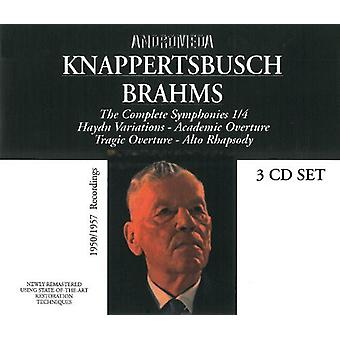 Brahms - Sinfonien 1-4 Variationen [CD] USA import