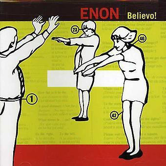 Enon - Believo! [CD] USA import
