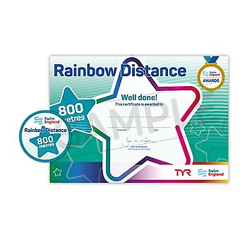 ASA Swim England Rainbow Distance Swimming Award - 800M