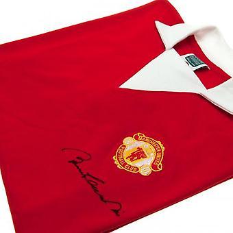 Manchester United Charlton signert trøye