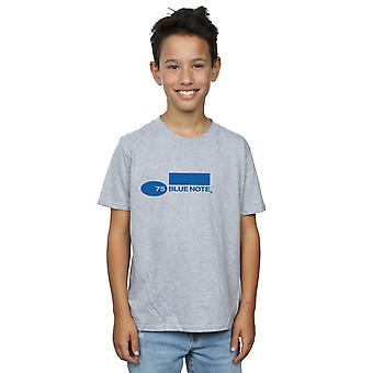 Blue Note Records Boys Simple Logo T-Shirt