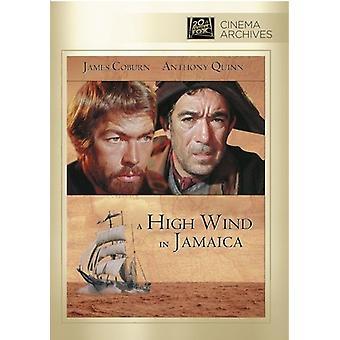 Hög vind i Jamaica [DVD] USA import