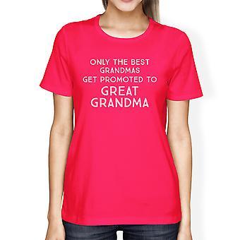 Aufstieg in große Oma Womens Grafik T-Shirt Großmutter Geschenke