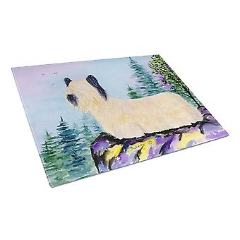 Carolines Treasures  SS8679LCB Skye Terrier Glass Cutting Board Large