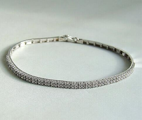Christian wit gouden zirkonia armband