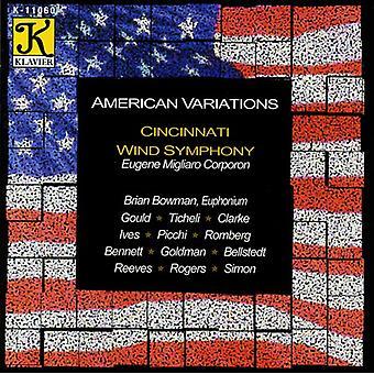 Cincinnati Wind Symphony - American Variations [CD] USA import