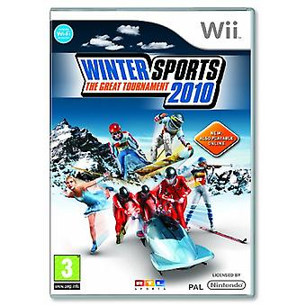 Winter Sports 2010 The Great Tournament (Wii) - New