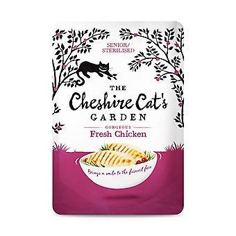 チェシャ猫の庭チキン シニア/殺菌猫ウェット フード - 1 X 85 g