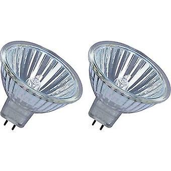 OSRAM Eco halogeen EEG: B (A ++ - E) GU5.3 45 mm 12 V 25 W Warm witte Reflector lamp dimbaar 2 PC('s)