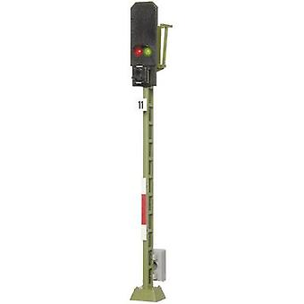 Viessmann 4011 H0 lys blokkere signal montert DB