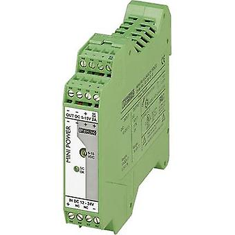 Phoenix Contact MINI-PS-12-24DC/5-15DC/2 rotaie PSU (DIN) 2 1 x