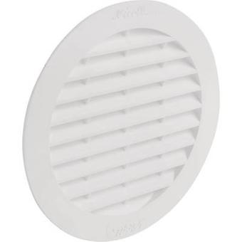 Wallair N32909 Vent grille Plastic Suitable for pipe diameter: 10 cm