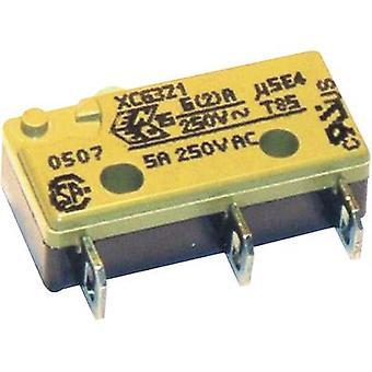 Saia Microswitch XCG3J1Z1 250 V AC 6 A 1 x On/(On) IP40 momentary 1 pc(s)