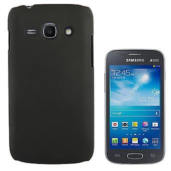 Mobiele telefoon gevaldekking van het etui voor Samsung Galaxy ACE 3 S7272 zwart
