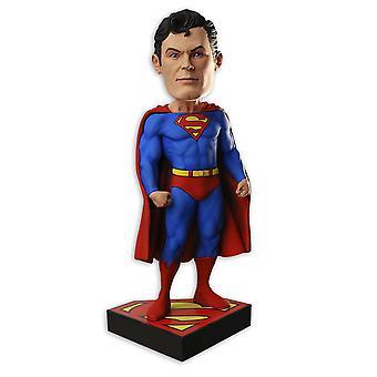 Rysunek Aalok Superman Headknocker czerwony, niebieski, wykonane z żywicy, przez NECA.