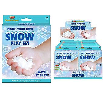 World Of Science Make Your Own Snow Play Set Fun Children Decoration