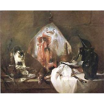 The Ray, Jean Baptiste Simeon Chardin, 50x40cm