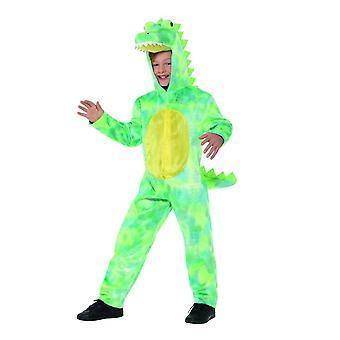 Deluxe Dinosaur drakt, barn dyr Fancy kjole, store alder 10-12