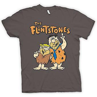 Mens T-shirt - The Flintstones - Fred And Barney - Cool Cartoon