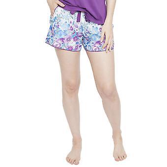 Cyberjammies 4096 Frauen Andrea White Floral Print Pyjama kurz