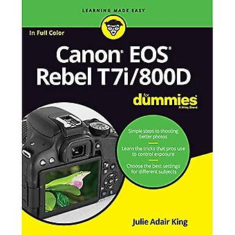 Canon EOS Rebel T7i/800D for�Dummies