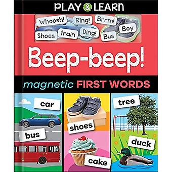 Beep-beep! Magnetic First Words (Play & Learn)