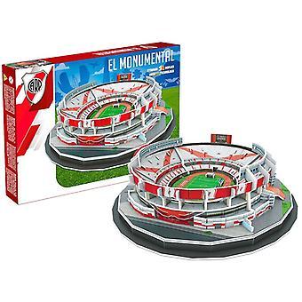 Elven Plate El monumentale Stadium 3D puslespill