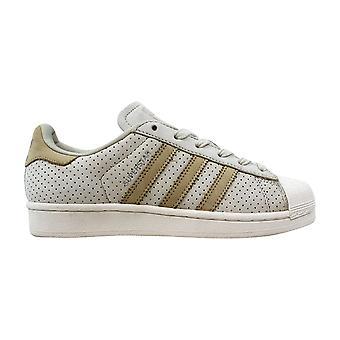 Adidas Superstar mote J fjerner Brown/sengetøy Khaki-kritt hvit BB2525 klasse-skole