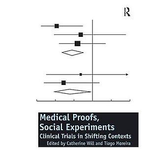 医療証明によってコンテキストをシフトでの臨床試験が社会実験・ キャサリン