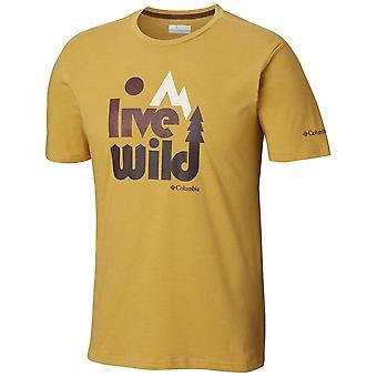 Columbia Terra Vale EM0737718 camiseta universal de homens de verão