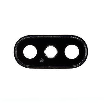 Hintere Kamera Objektiv mit Blende Space Grau für iPhone & XS XS Max