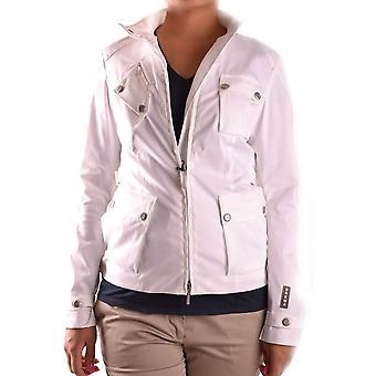 Brema Ezbc146025 Women's White Cotton Outerwear Jacket