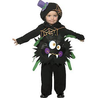 Costume crazy spider topcoat with hood