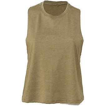 Cotton Addict Womens/Ladies Racerback Cropped Tank Top Vest