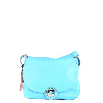 Gherardini Ezbc281002 Women's Light Blue Leather Shoulder Bag