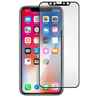 Akashi iPhone X / XS Tempered Glass Screen Protector Shockproof - Black