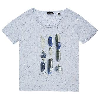 Maison Scotch Short Sleeve Tee In Neppy