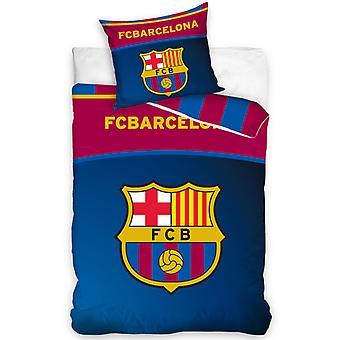 FC Barcelona Centre logo enkelt dynebetræk sæt