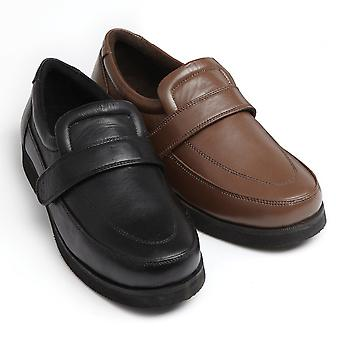 Leather Adjustable Comfort Shoes/Drifters
