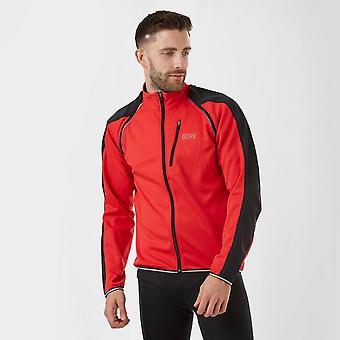 New Gore Men's C3 GORE® Windstopper® Phantom Cycling Jacket Red