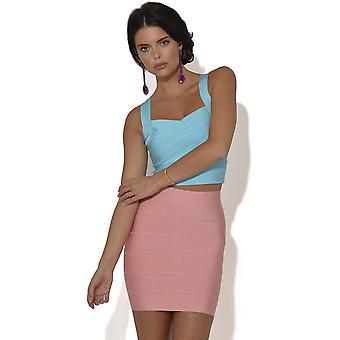 Colour Pop Bandage Mini nederdel