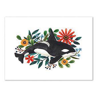 Art-Poster - Orca - Ploypisut 50 x 70 cm