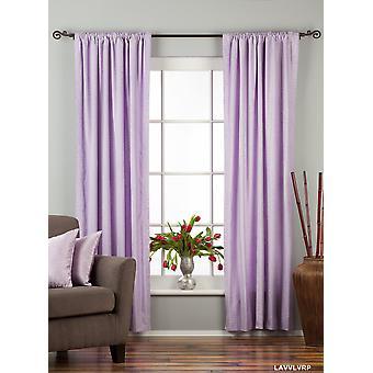 Lavendel Gardinenstangen Pocket Velvet / drapieren / Panel - Stück
