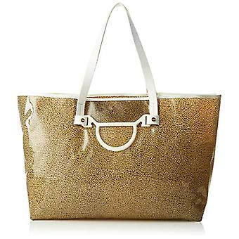 Borbonese Metropolitan Shoulder Bag Donna Brown (Op Nat C or C O) C or C O 41x32x14 cm (W x H x L)