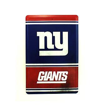 New York Giants NFL Team Logo Tin Sign