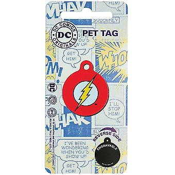 DC Comics The Flash Pet Tag