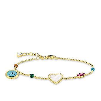 Thomas Sabo pulsera de anillo turquesa por plata mujer Sterling 925