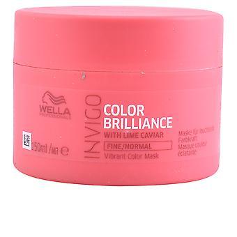 Invigo de Wella cor brilho máscara cabelos finos 500 Ml unissex