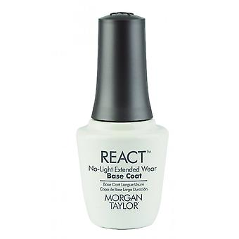 Morgan Taylor No Light Needed Extended 10 Day Wear React Nail Base Coat