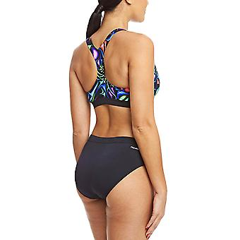 Zoggs Womens Blast Muscle Swimming Swim Pool Holiday Swimsuit Costume - Multi